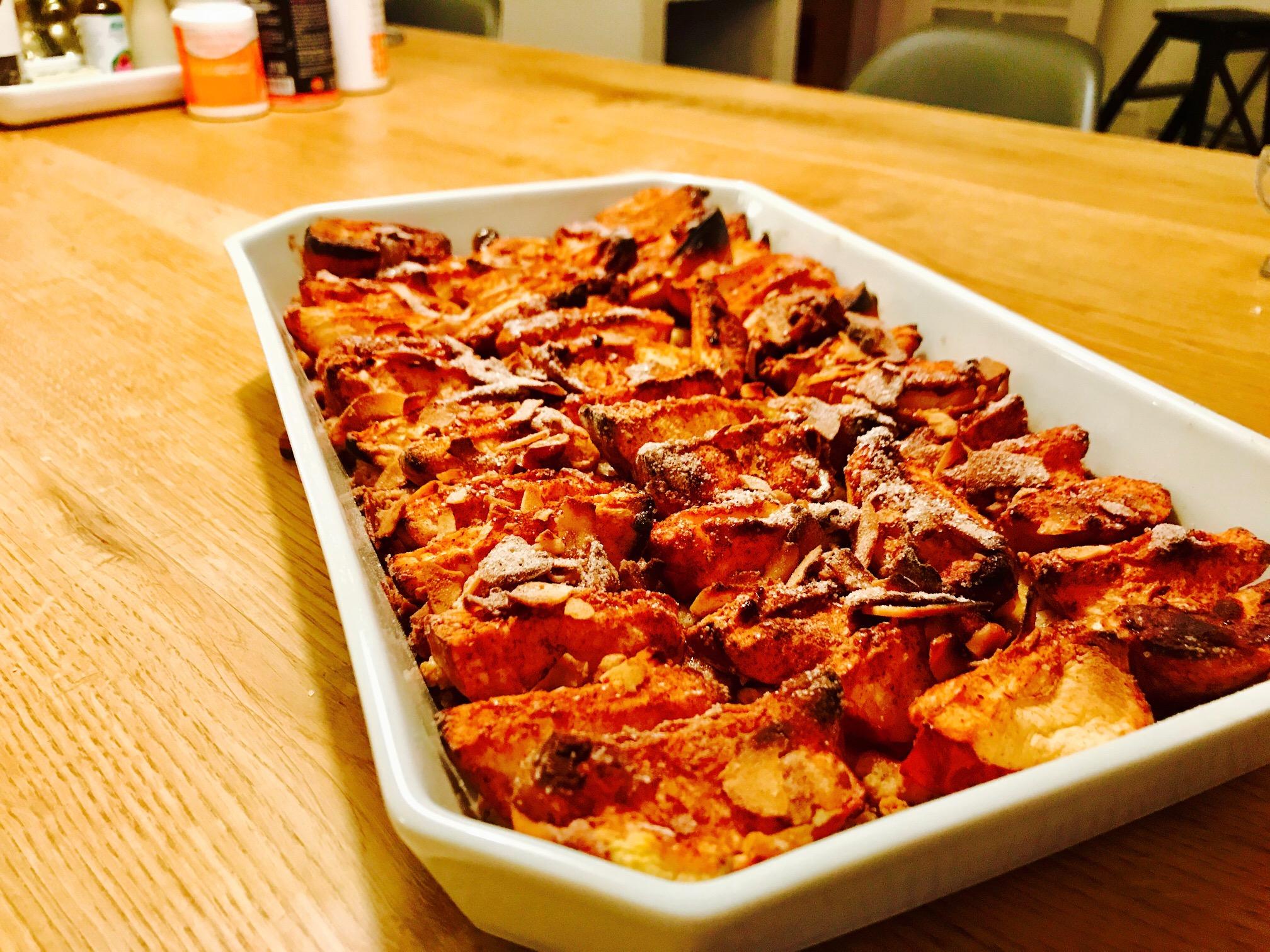 Her er en dejlig æblekage fra Oktober 2017. Den blev god!